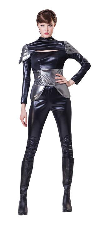 Women's Spy Fancy Dress Costume Thumbnail 1
