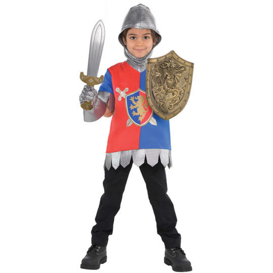 Knight Unisex Kit Fancy Dress Costume Thumbnail 1