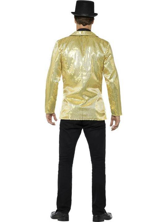 Men's Sequin Jacket Fancy Dress Costume Thumbnail 2