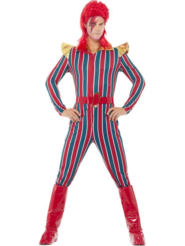 Space Superstar Men's Fancy Dress Costume