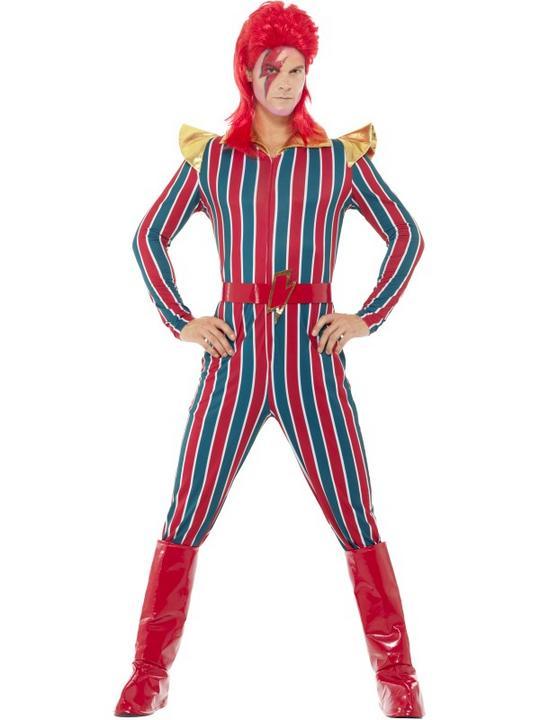Space Superstar Men's Fancy Dress Costume Thumbnail 1