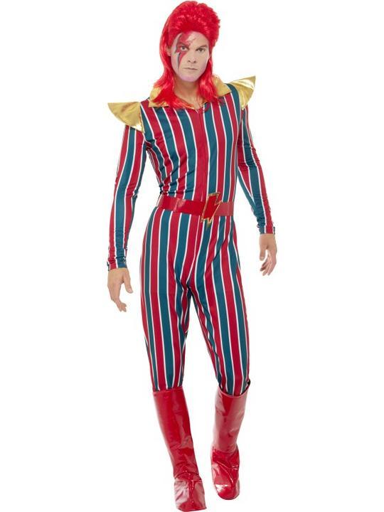 Space Superstar Men's Fancy Dress Costume Thumbnail 2