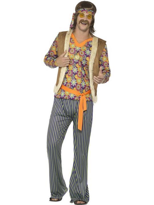 60's Singer Costume Men's Fancy Dress Costume Thumbnail 2
