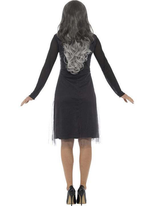 Lady Skeleton Women's Fancy Dress  Costume Thumbnail 2