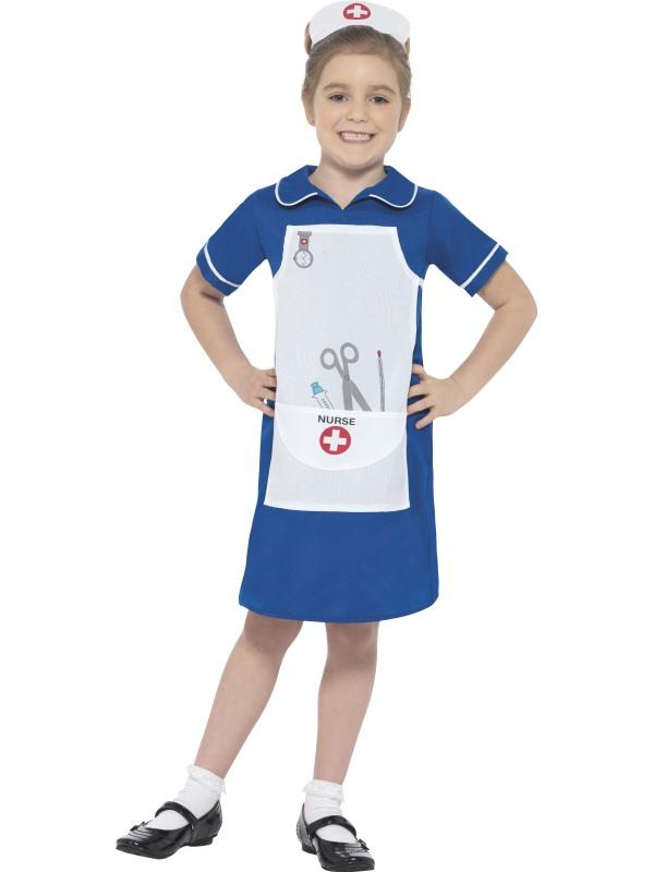 Nurse Girl's Fancy Dress Costume
