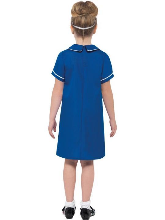 Nurse Girl's Fancy Dress Costume Thumbnail 2
