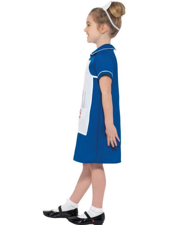 Nurse Girl's Fancy Dress Costume Thumbnail 3