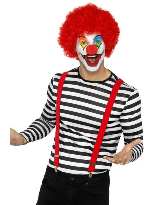 Stripy T-Shirt Unisex Fancy Dress Costume Thumbnail 2
