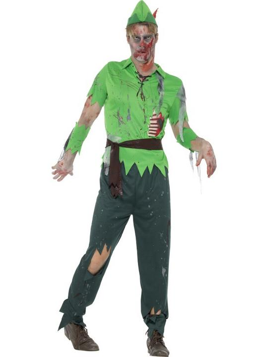 Zombie Lost Boy Fancy Dress Costume Thumbnail 1