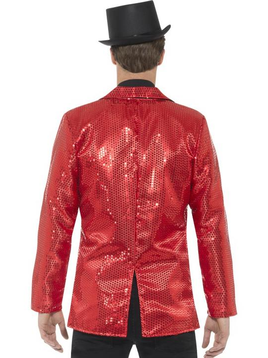 Sequin Jacket Men's Fancy Dress Costume Thumbnail 2
