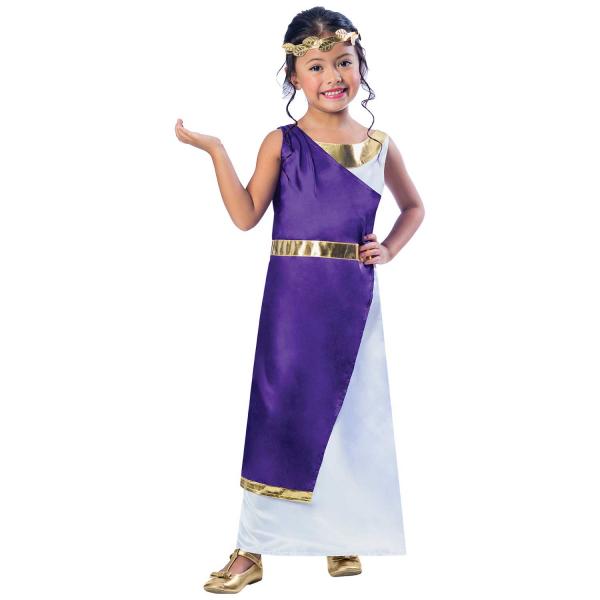 Roman Girl Fancy Dress Costume