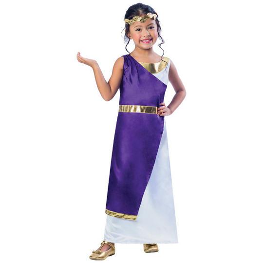 Roman Girl Fancy Dress Costume Thumbnail 1