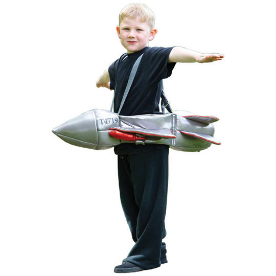 Ride on Jet Kids Fancy Dress Costume 3+ yrs