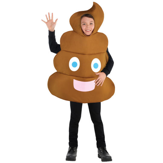 Pooper emoji  Kids Fancy Dress Costume Thumbnail 1