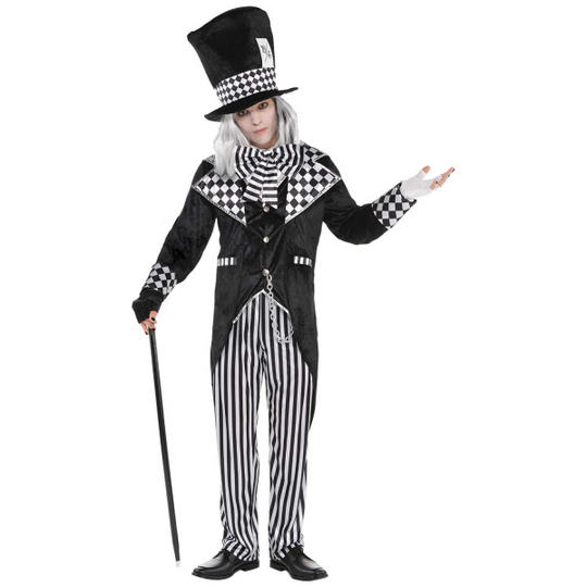 Totally Mad Hatter Men's Fancy Dress Costume Thumbnail 1