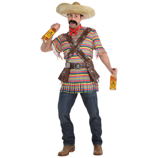 Tequilla Bandito Men's Fancy Dress Costume Thumbnail 1