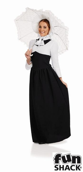 Victorian Woman Fancy Dress Costume Thumbnail 1