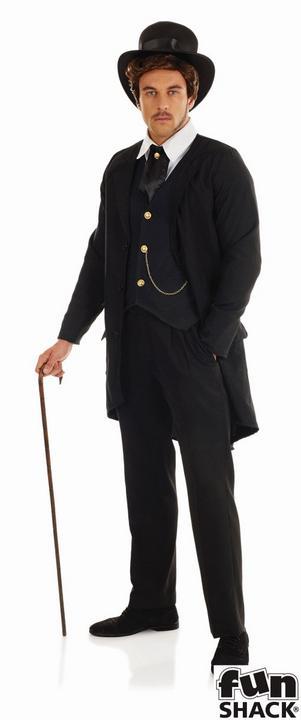 Victorian Man Fancy Dress Costume Thumbnail 1