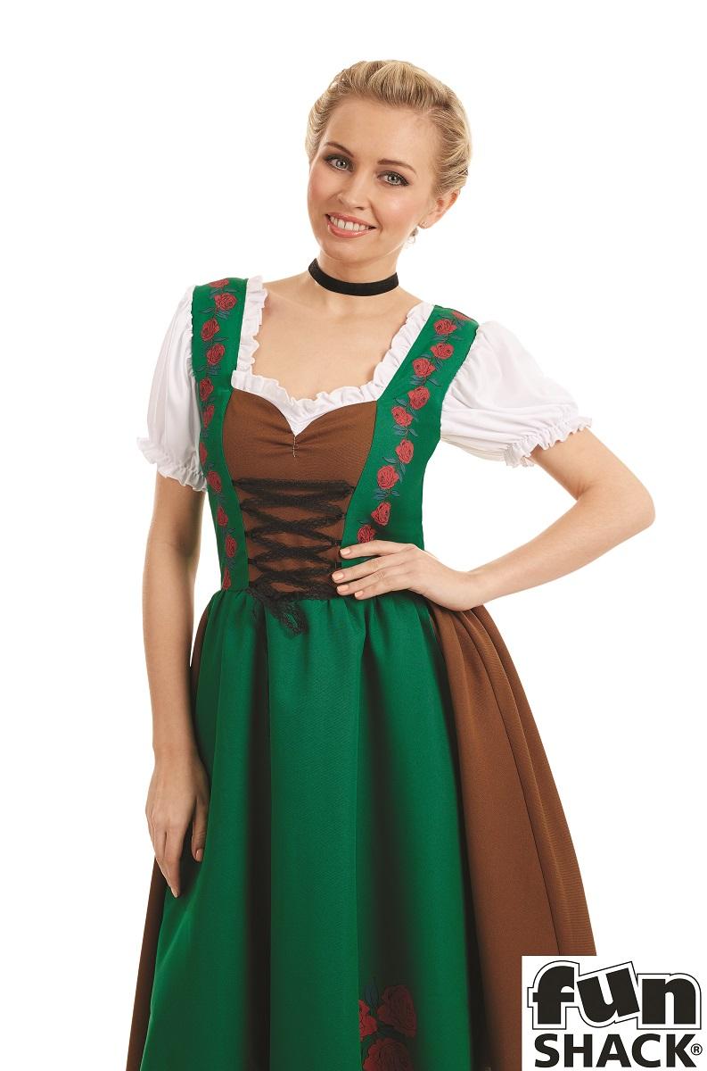 Traditional Bavarian Women's Fancy Dress Costume Thumbnail 2