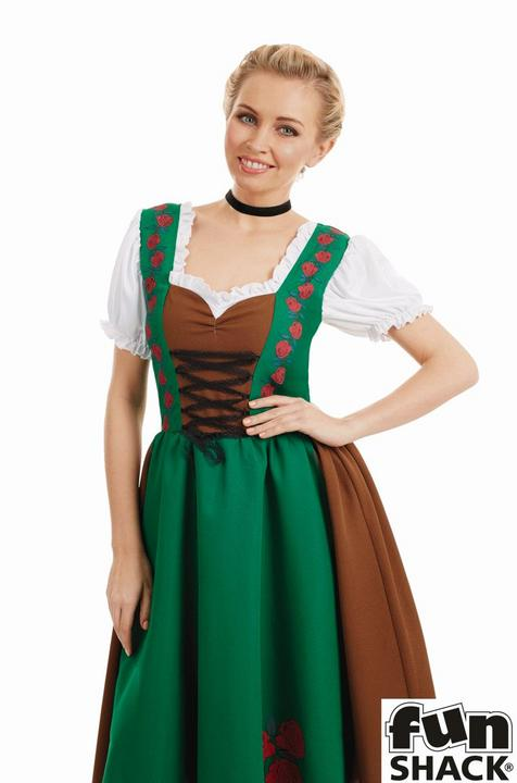 Traditional Bavarian Women's Fancy Dress Costume Thumbnail 2