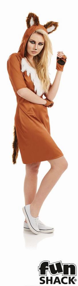 Urban Fox Women's Fancy Dress Costume