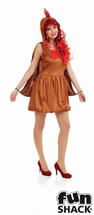 Chick Women's Fancy Dress Costume Thumbnail 1