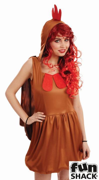 Chick Women's Fancy Dress Costume Thumbnail 2