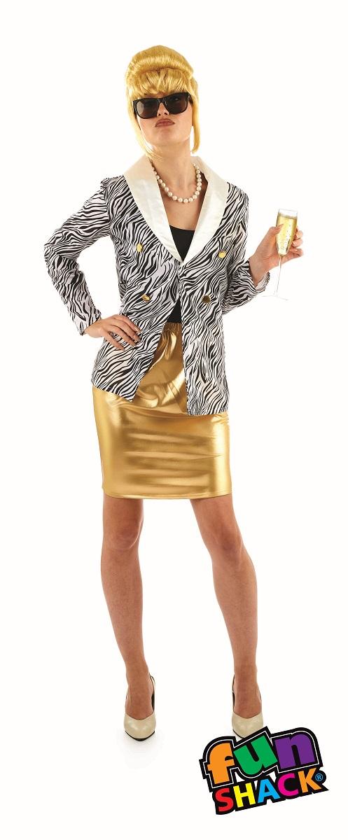 Lady Fabulous Women's Fancy Dress Costume