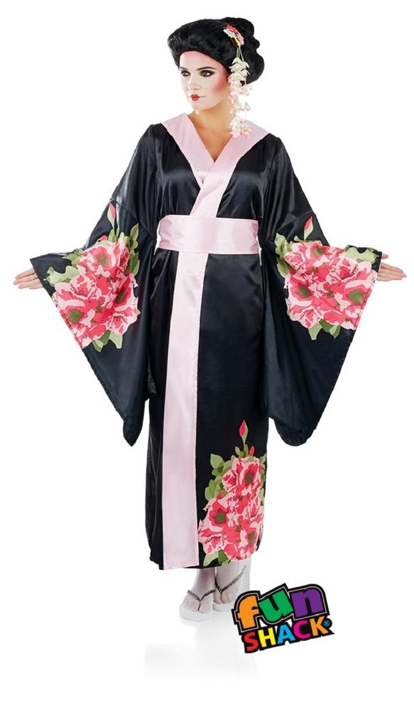 Geisha Women's Fancy Dress Costume