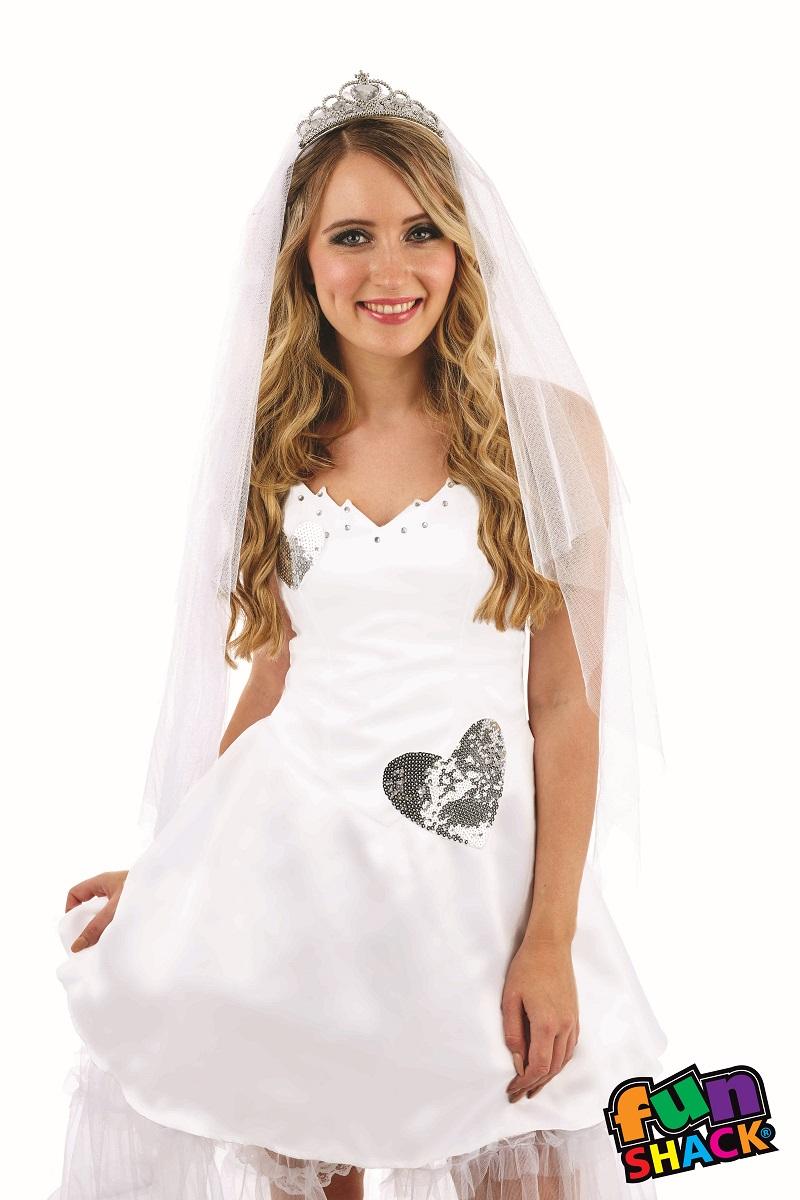 Bride Women's Fancy Dress Costume Thumbnail 2