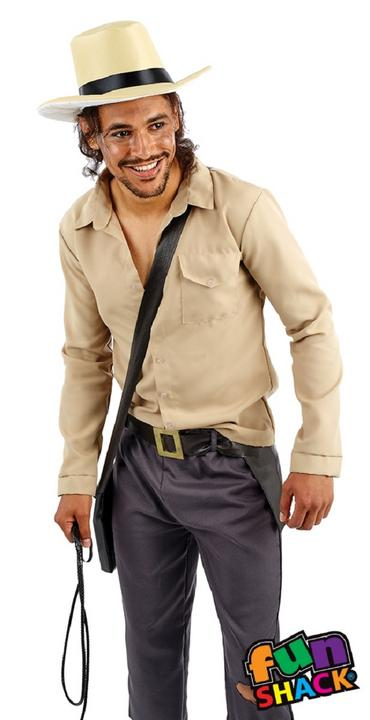 Adventurer Men's Fancy Dress Costume Thumbnail 2