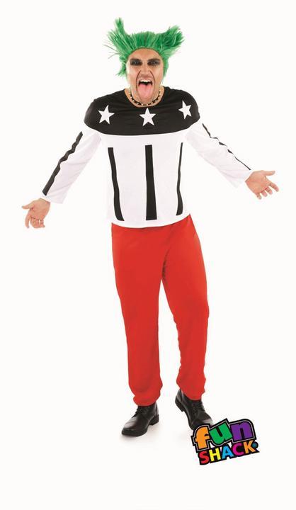 90'S Rave Starter Men's Fancy Dress Costume Thumbnail 2
