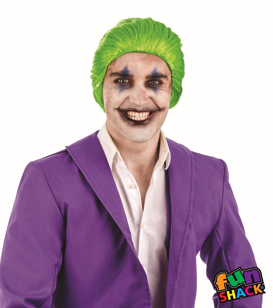 Green Men's Wig
