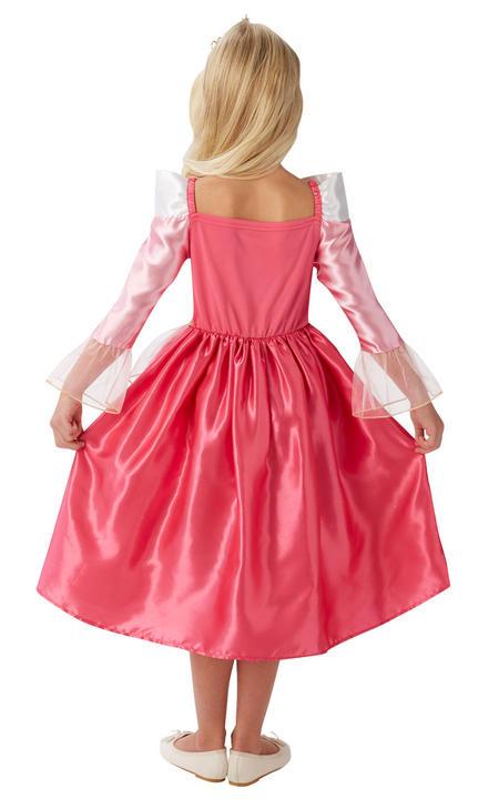 Storyteller Disney Princess Sleeping Beauty Girl's Fancy Dress Costume Thumbnail 2