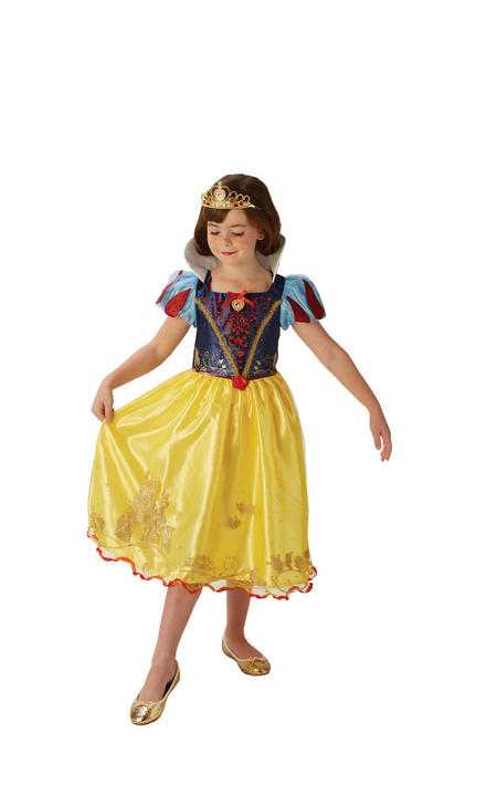 Storyteller Disney Pincess Snow White Girl's Fancy Dress Costume Thumbnail 2