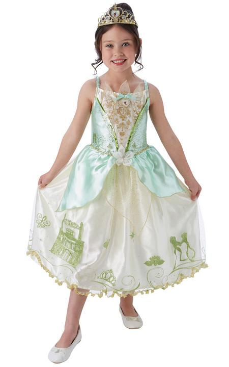 Disney Pincess Storyteller Tiana Girl's Fancy Dress Fancy Thumbnail 1
