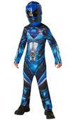 Power Ranger Blue Ranger Movie Boy's Fancy Dress Costume