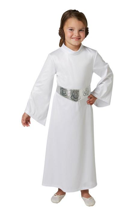 Leia Disney Star Wars Girl's Fancy Dress Costume Thumbnail 1