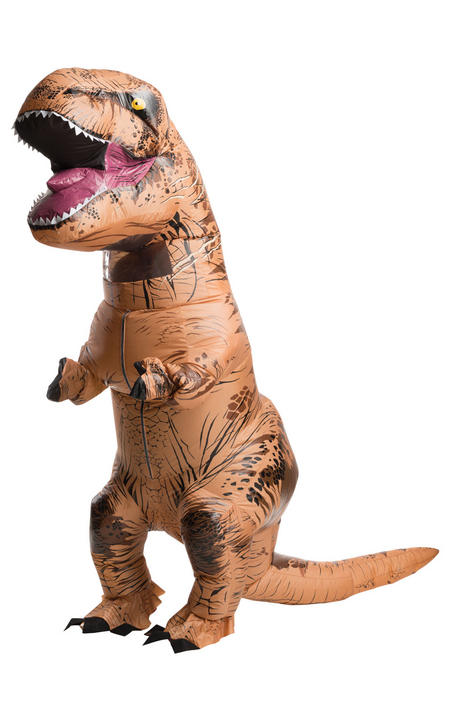 Inflatable T-Rex Adult Fancy Dress Costume