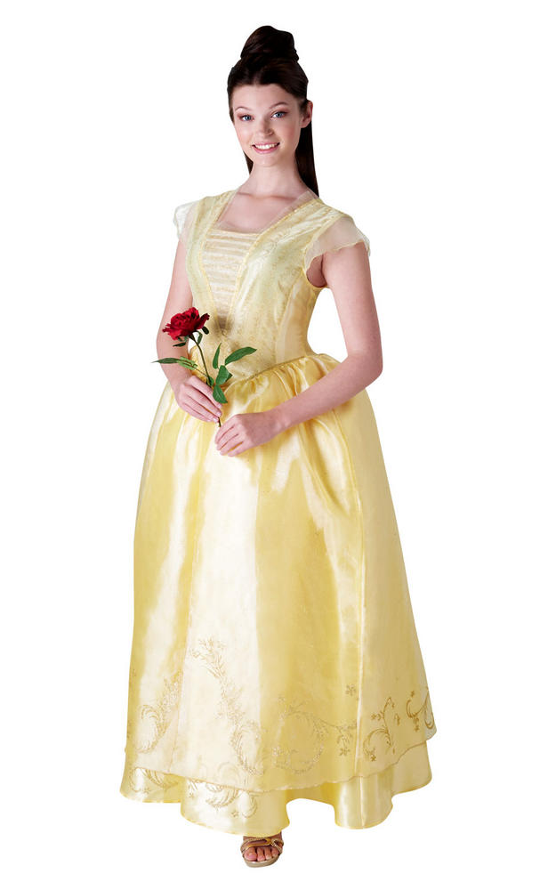 Disney Live Action Belle Women's Fancy Dress Costume