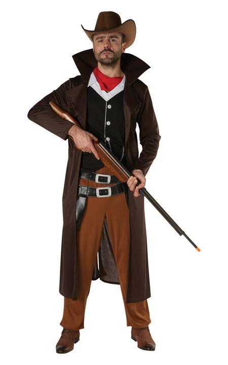 Gunslinger Men's Fancy Dress Costume Thumbnail 1