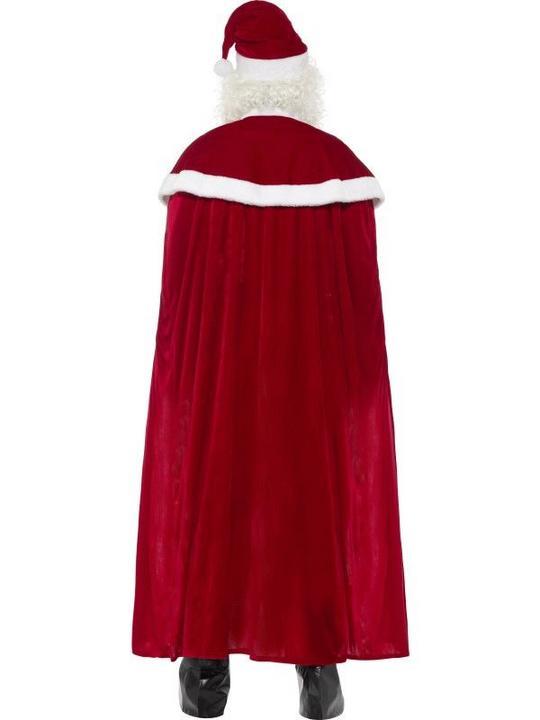 Deluxe Santa Claus Men's Fancy Dress Costume Thumbnail 2