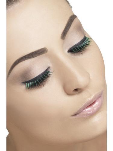 Eyelashes Black and Green Thumbnail 1