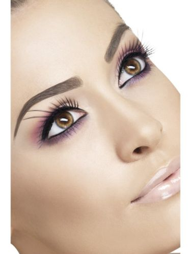 Eyelashes, Black with Long Plumes Thumbnail 1