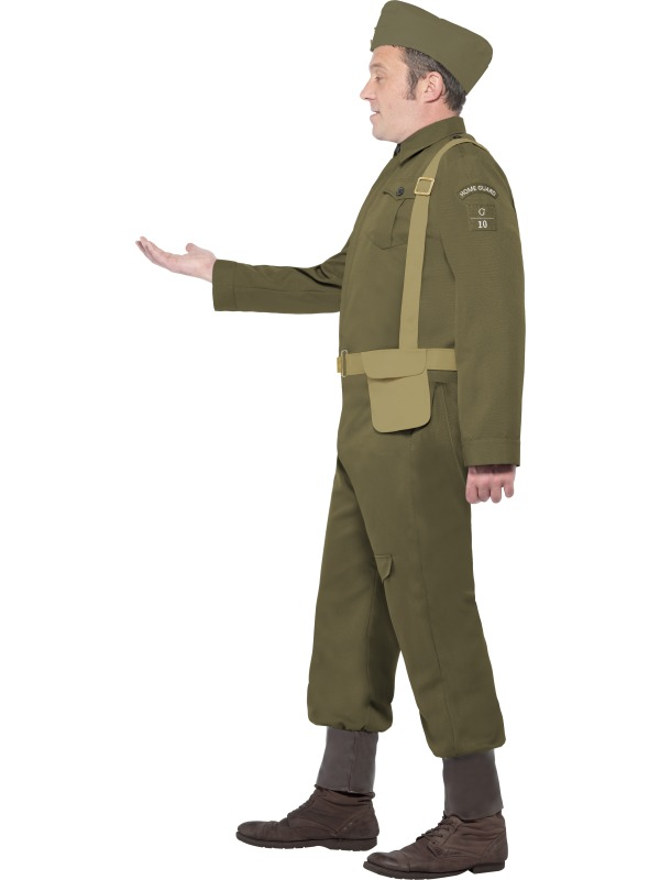 Adult-WWII-Dads-Army-Home-Guard-Private-Uniform-Mens-Fancy-Dress-Stag-Costume