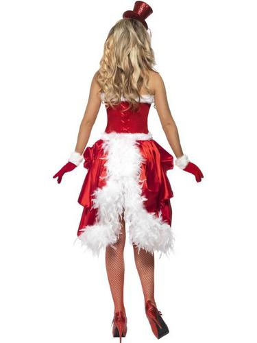 Santa Baby Burlesque Fancy Dress Costume Thumbnail 3