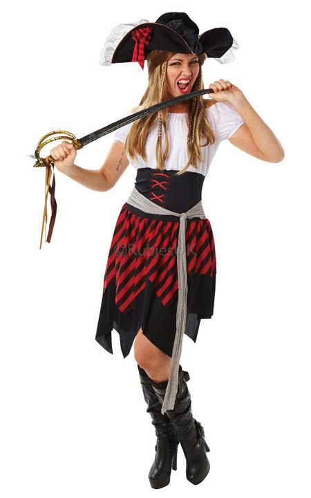 Ladies Buccaneer Costume Thumbnail 1