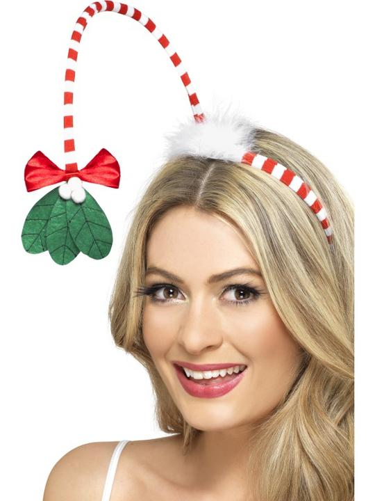 Mistletoe Kisses Headband Thumbnail 1