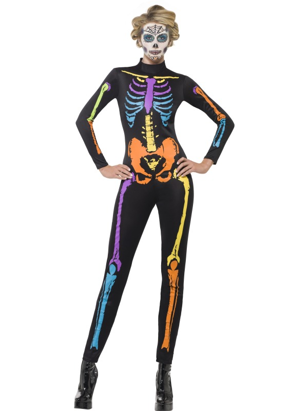 Neon Skeleton Costume