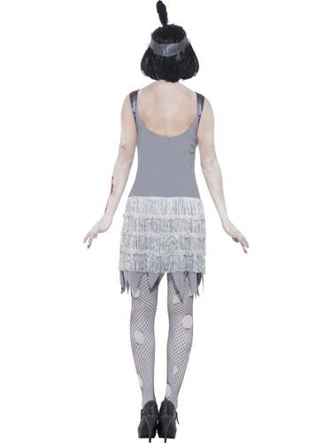 Zombie Flapper Dress Costume Thumbnail 3
